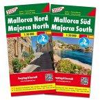 Freytag & Berndt Auto + Freizeitkarte Mallorca Nord und Süd, Set, Autokarten 1:50.000; Freytag & Berndt Road + Leisure M