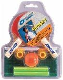 Donic Schildkröt 788435 - Tischtennis-Set Mini, 2er Set mit Netz und Ball