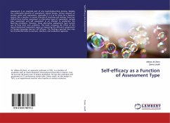 Self-efficacy as a Function of Assessment Type