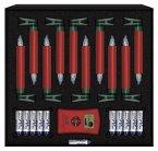Krinner Lumix Deluxe 10er Basis Set rot