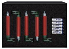 Krinner Lumix Deluxe 5er Erweiterungs Set rot