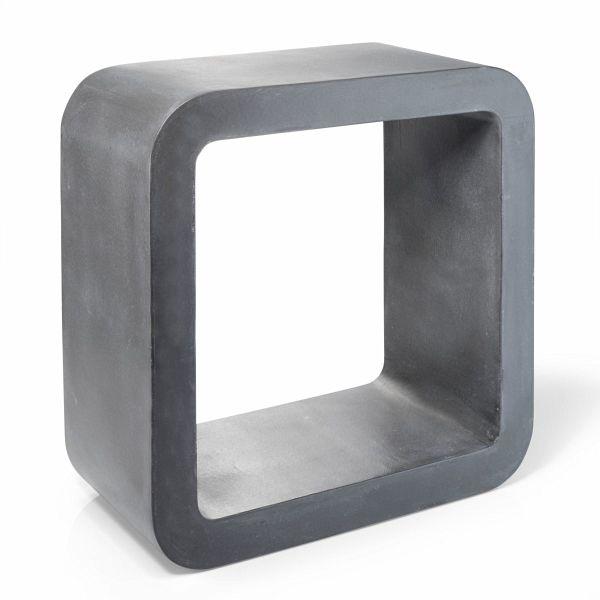 Miavilla wandregal cube grau for Mia villa wohnen