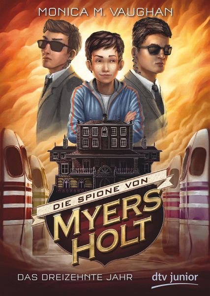 Buch-Reihe Die Spione von Myers Holt