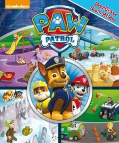 PAW Patrol - Verrückte Such-Bilder, groß - Pappbilderbuch