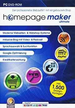 homepage maker 11 Ultimate