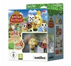 Animal Crossing Bundle: amiibo Festival + 2 amiibo-Figuren + 3 amiibo-Karten (Wii U)