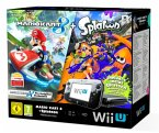 Wii U Premium Pack black + Mario Kart 8 + Splatoon (32GB)