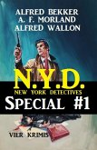 N.Y.D. - Special #1: Vier Krimis (New York Detectives) (eBook, ePUB)