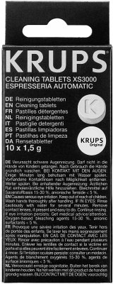 Krups XS 3000 Reinigungstabletten