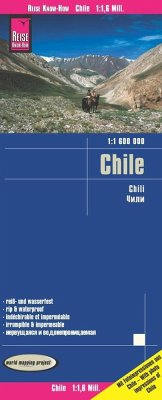 Reise Know-How Landkarte Chile; Chili