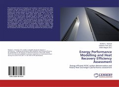 Energy Performance Modelling and Heat Recovery Efficiency Assessment