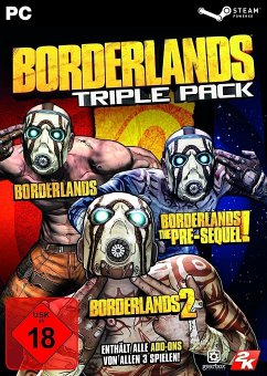Borderlands Triple Pack (PC)