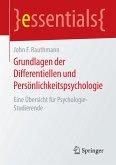 Grundlagen der Differentiellen und Persönlichkeitspsychologie (eBook, PDF)