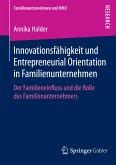 Innovationsfähigkeit und Entrepreneurial Orientation in Familienunternehmen (eBook, PDF)