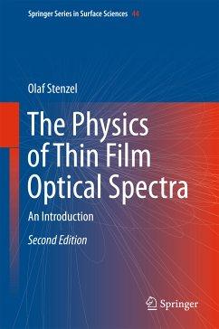 The Physics of Thin Film Optical Spectra (eBook, PDF) - Stenzel, Olaf