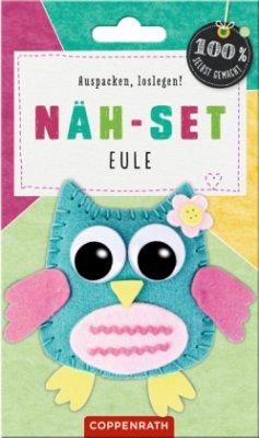 Näh-Set: Filzanhänger Eule