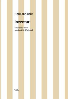 Inventur (eBook, PDF) - Bahr, Hermann