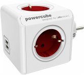 allocacoc PowerCube Original USB rot Type F für Extended Cubes