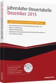 Jahreslohn-Steuertabelle Dezember 2015, m. DVD-ROM