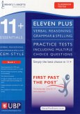 11+ Verbal Reasoning Grammar & Spelling for CEM, Multiple Choice Practice Tests Included