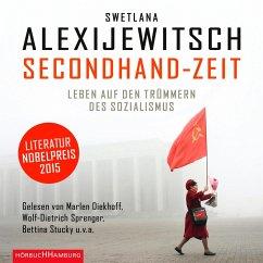 Secondhand-Zeit, 8 Audio-CDs - Alexijevich, Svetlana