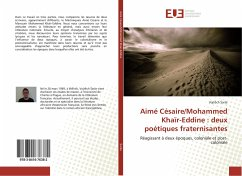 Aimé Césaire/Mohammed Khaïr-Eddine : deux poétiques fraternisantes - Sarse, Vojtech