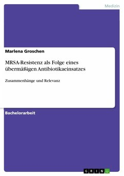 MRSA-Resistenz als Folge eines übermäßigen Antibiotikaeinsatzes (eBook, ePUB)