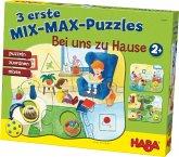 HABA 301649 - 3 erste Mix-Max Puzzles - Bei uns zu Hause
