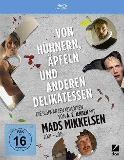 Von Hühnern, Äpfeln und anderen Delikatessen (Flickering Lights, Dänische Delikatessen, Adams Äpfel, Men & Chicken) BLU-RAY Box