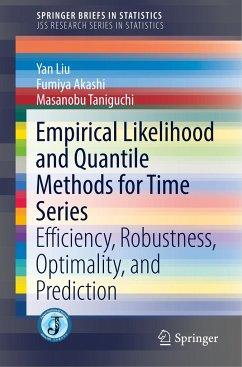 Empirical Likelihood and Quantile Methods for Time Series - Liu, Yan;Akashi, Fumiya;Taniguchi, Masanobu