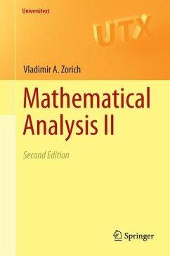 Mathematical Analysis II - Zorich, Vladimir A.