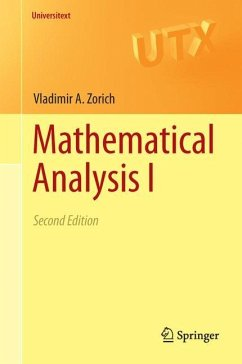 Mathematical Analysis I - Zorich, Vladimir A.