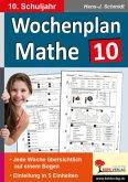 Wochenplan Mathe 10. Schuljahr