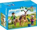 PLAYMOBIL 6949 Ponymama mit Fohlen