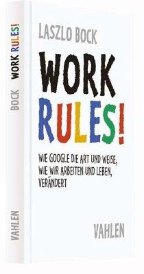 Work Rules! - Bock, Laszlo