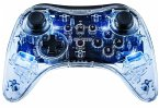 Afterglow Wireless Pro Controller (Smart Track), transparent, blau