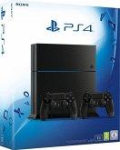 Sony Playstation 4 schwarz 1TB inkl. 2 Controllern