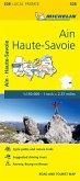 Ain, Haute-Savoie - Michelin Local Map 328