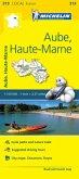 Aube, Haute-Marne - Michelin Local Map 313
