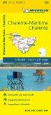 Charente, Charente-Maritime - Michelin Local Map 324