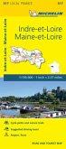 Indre-et-Loire, Maine-et-Loire - Michelin Local Map 317