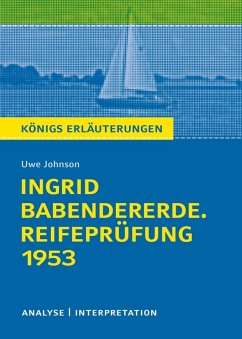 Ingrid Babendererde. Reifeprüfung 1953 (eBook, ePUB) - Johnson, Uwe