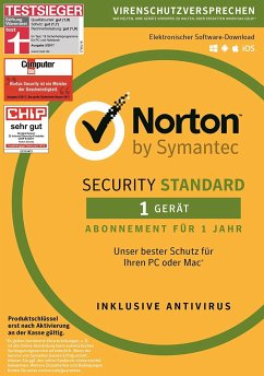 Norton Security Standard 3.0, 1 Gerät, Download...
