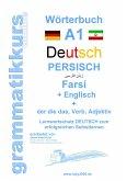 Wörterbuch Deutsch - Persisch - Farsi - Englisch