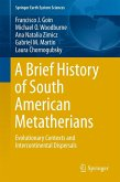A Brief History of South American Metatherians (eBook, PDF)