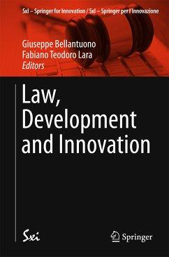 Law, Development and Innovation (eBook, PDF)