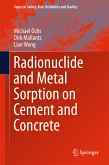 Radionuclide and Metal Sorption on Cement and Concrete (eBook, PDF)