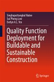 Quality Function Deployment for Buildable and Sustainable Construction (eBook, PDF)