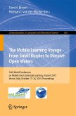 The Mobile Learning Voyage - From Small Ripples to Massive Open Waters (eBook, PDF)