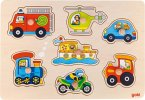 Steckspiel Verkehrspuzzle (Holzpuzzle)